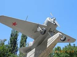 Меморіал героїчної оборони Одеси. Літак І-16