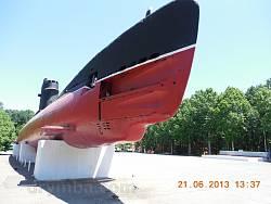 Мемориал обороны Одессы. Подводная лодка