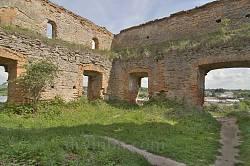 Меджибізька фортеця. Верхній майданчик офіцерської башти