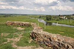 Краєвид з майданчика Меджибізької фортеці