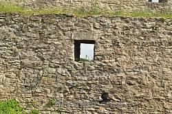 Меджибізька фортеця. Бійниця