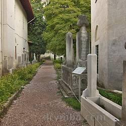 Вхід на Ханський цвинтар