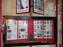Стенди музею Партизанської слави