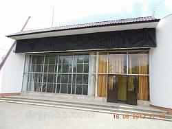 Нерубайське. Вхід до музею партизанської слави