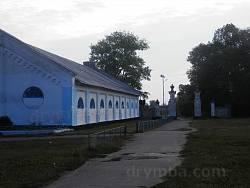 Конный манеж (сейчас спортзал) в Антонинах