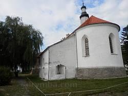 Троїцька церква. Вівтарна частина