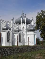 Церква в Мошнах. Фраґмент