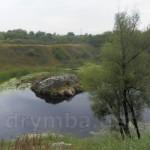 """""""Камінь Пушкіна"""" на річці Тясмин поблизу селища Кам'янка"""