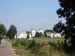 Графський палац в селі Вишеньки