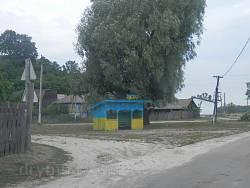 Автобусна зупинка у Мезині