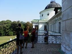 На балконі палацу Тарновських