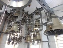 Електронні дзвони в Гошівському монастирі. Здається, вони єдині такі в Україні