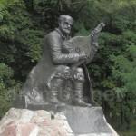 Сокиринці. Пам'ятник Остапу Вересаю