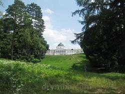 Вид на палац від ставка