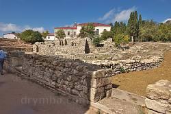 Херсонес. Руины храма на месте амфитеатра