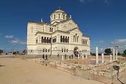 Володимирський собор та базиліка VI ст. (N30 на плані)
