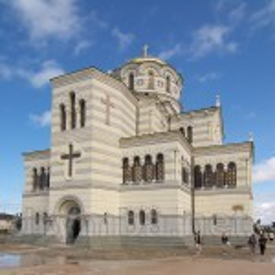 Володимирський собор у Херсонесі Таврійському. Фасад