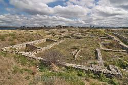 Загальний вигляд розкопаного північно-східного району
