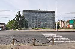 Вінниця. Площа Соборна та будівля облвиконкому