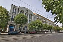 Будівлі на вул.Соборній у Вінниці