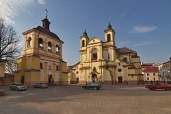 Костел Пресвятой Богородицы с колокольней в Ивано-Франковске