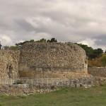 Херсонес. Римська цитадель. Справа - башта Зенона