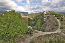 Вид на Бельбецький каньйон