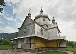 Устеріки. Дерев'яна Вознесенська церква