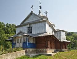 Підзахаричі. Свято-Василівська церква