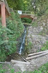 Водоспад Сикавка симпатичний, хоча й суттєво поступається Ніагарському