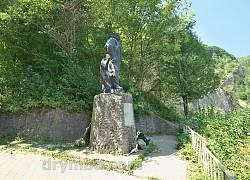 Пам'ятник Тарасу Шевченку біля Сокільської скелі