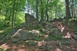 Общий вид каменных россыпей