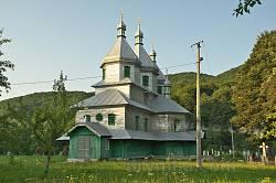 Виженка. Миколаївська церква
