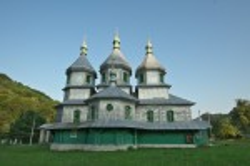 Церква св. Миколая у Виженці