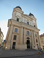 Фасад Преображенской церкви