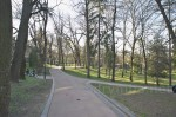 Алея у верхній частині парку
