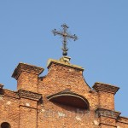 Завершення фронтону з хрестом