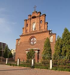 Городок. Костел Воздвиження Чесного Хреста