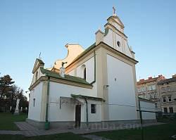 Костел св. ап.Петра і Павла у Львові. Вівтарна частина