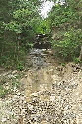 Водопад Кізя (напрягите воображение)