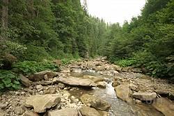 Долина потоку Великий Бісків