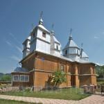 Деревянная церковь св.Димитрия в Дихтинці
