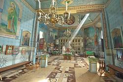 Інтер'єр церкви св. Параскеви