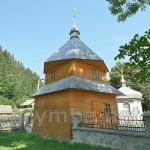 Усть-Путила. Дзвіниця церкви св. Параскеви