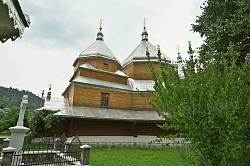 Деревянная церковь св. Симеона в Мариничах