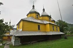 Успенська церква у Розтоках. Вид із півдня