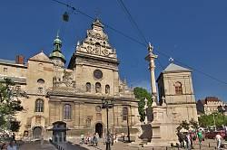 Львов. Комплекс бернардинского монастыря