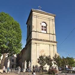 Монастир бернардинів. Оборонна вежа-дзвіниця