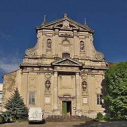 Костел Сретения Господня (монастырь босых кармелиток, г.Львов)