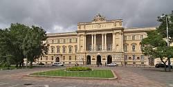 Главный корпус Львовского университета. Вид от памятника И. Франко